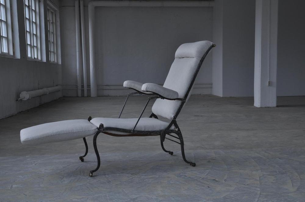 A Royal Iron Deck Chair